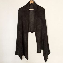 Plain-shawl-Charcoal