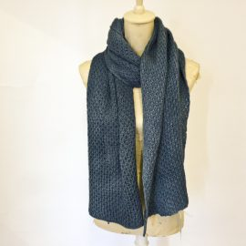 cowgirlblues-merino-wool-handdyed-scarf-airforce